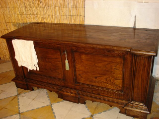 Lavori falegnameria brunori falegnami for Cassapanca di legno